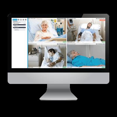 monitoring patients via NOVA software interface